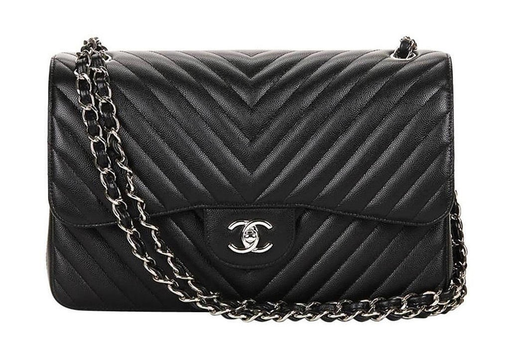 Chanel Classic Flap 101 Chevron Quilting