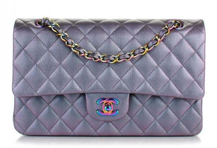 Chanel Classic Flap 101 Iridescent