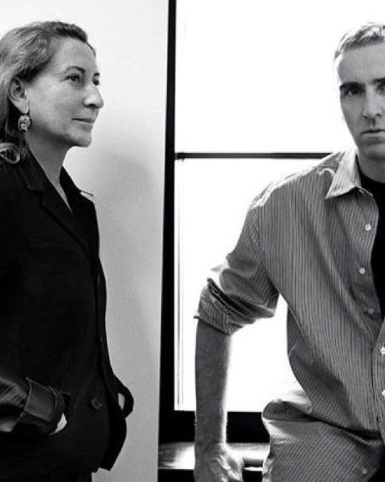 BREAKING NEWS: PRADA AND RAF SIMONS