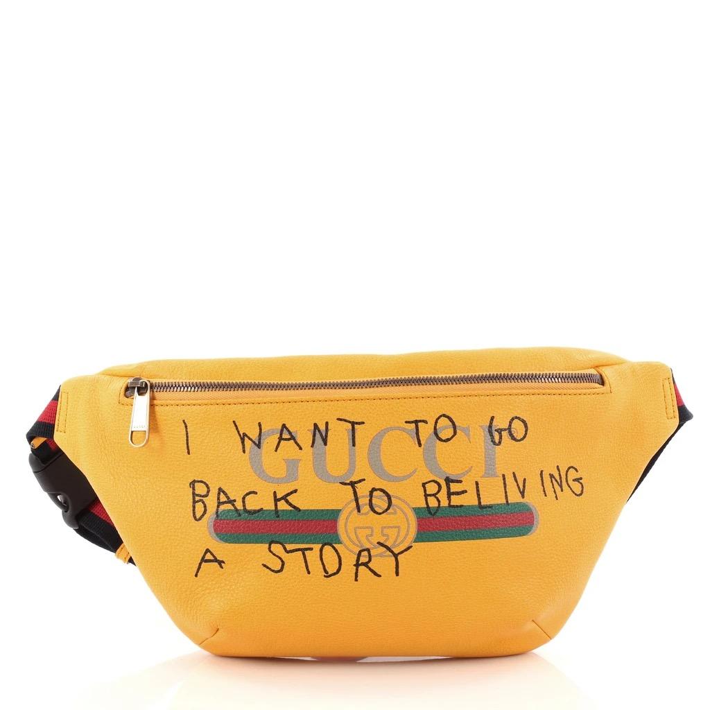 Gucci History 101 Alessandro Michele Capitan Belt Bag