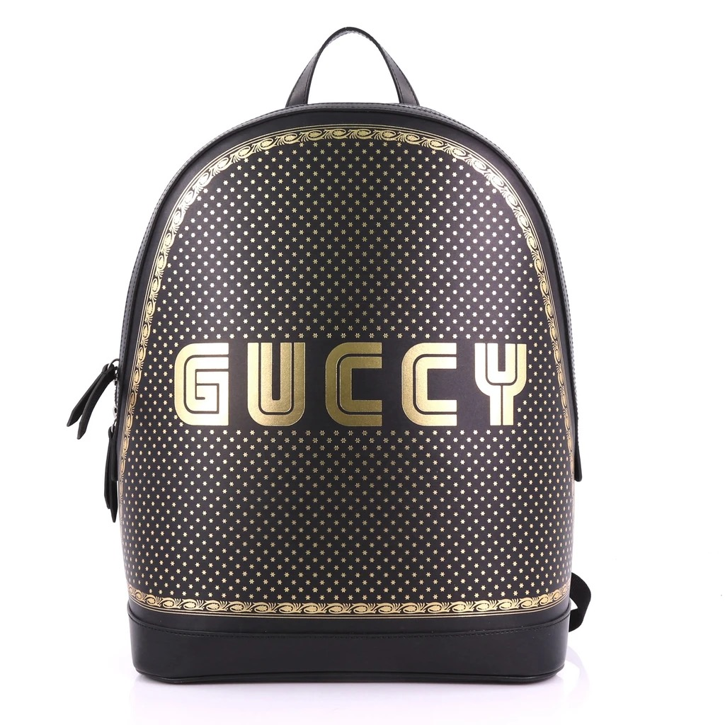 Gucci History 101 Alessandro Michele Zip Backpack