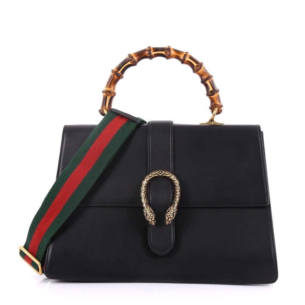 Gucci History 101 Alessandro Michele Bamboo Top Handle Dionysus