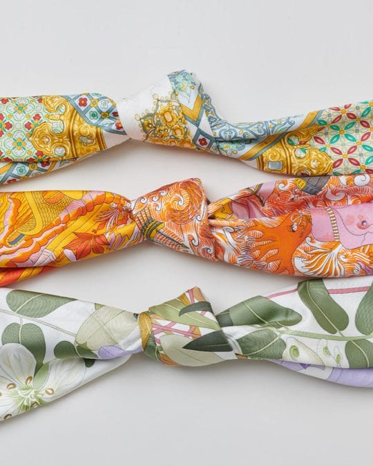 Hermès 101: Silk Scarves