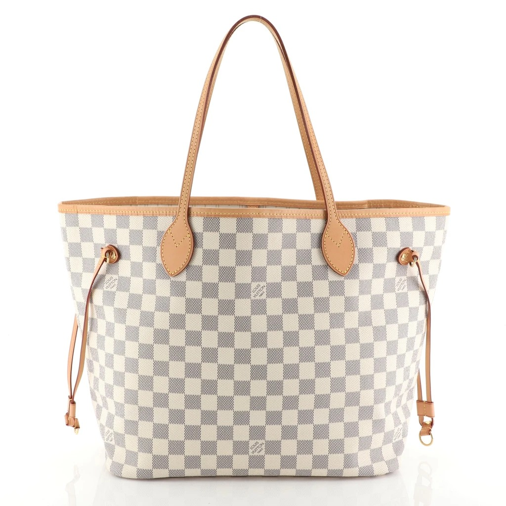 Louis Vuitton Neverfull 101 Damier Azur