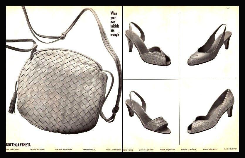 Bottega Veneta History 101 Vintage Advertisement