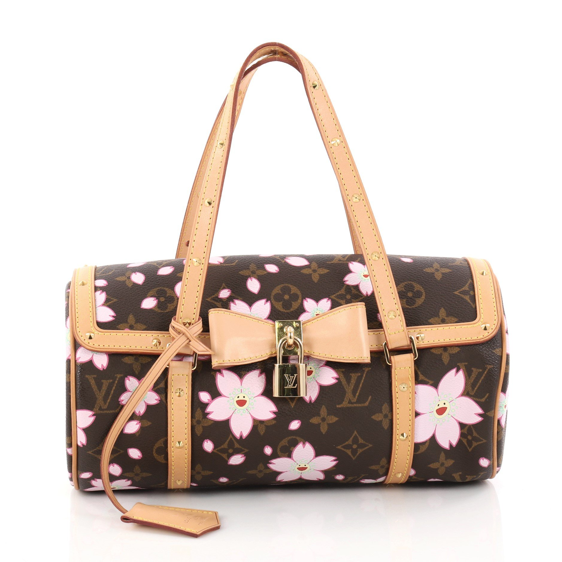 Louis Vuitton Papillon Handbag Cherry Blossom
