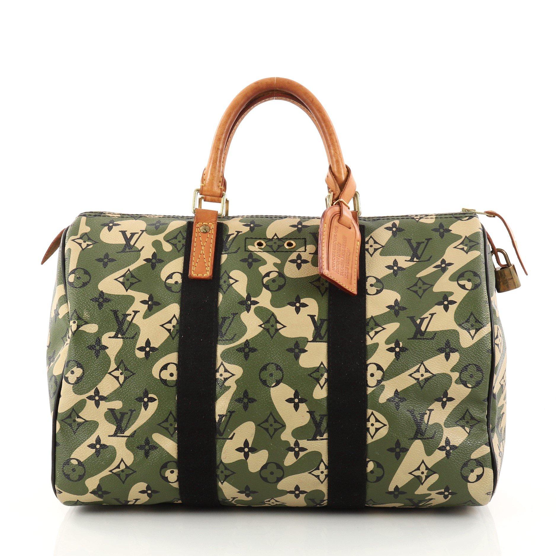 Louis Vuitton Speedy Handbag Monogramouflage
