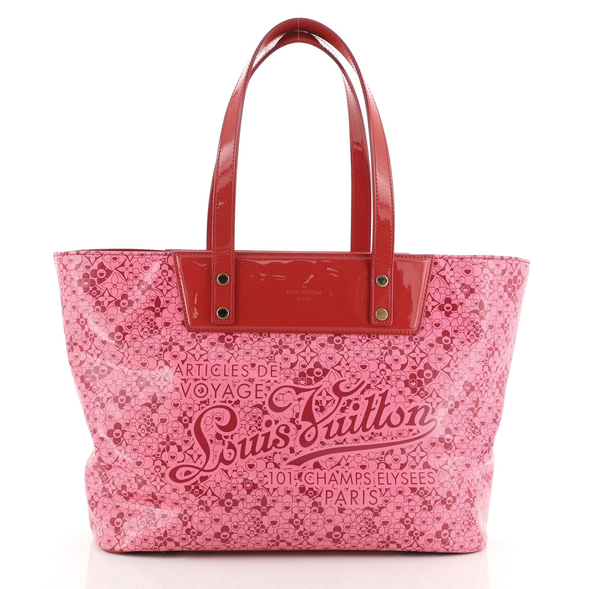Louis Vuitton Voyage Tote Cosmic Blossom