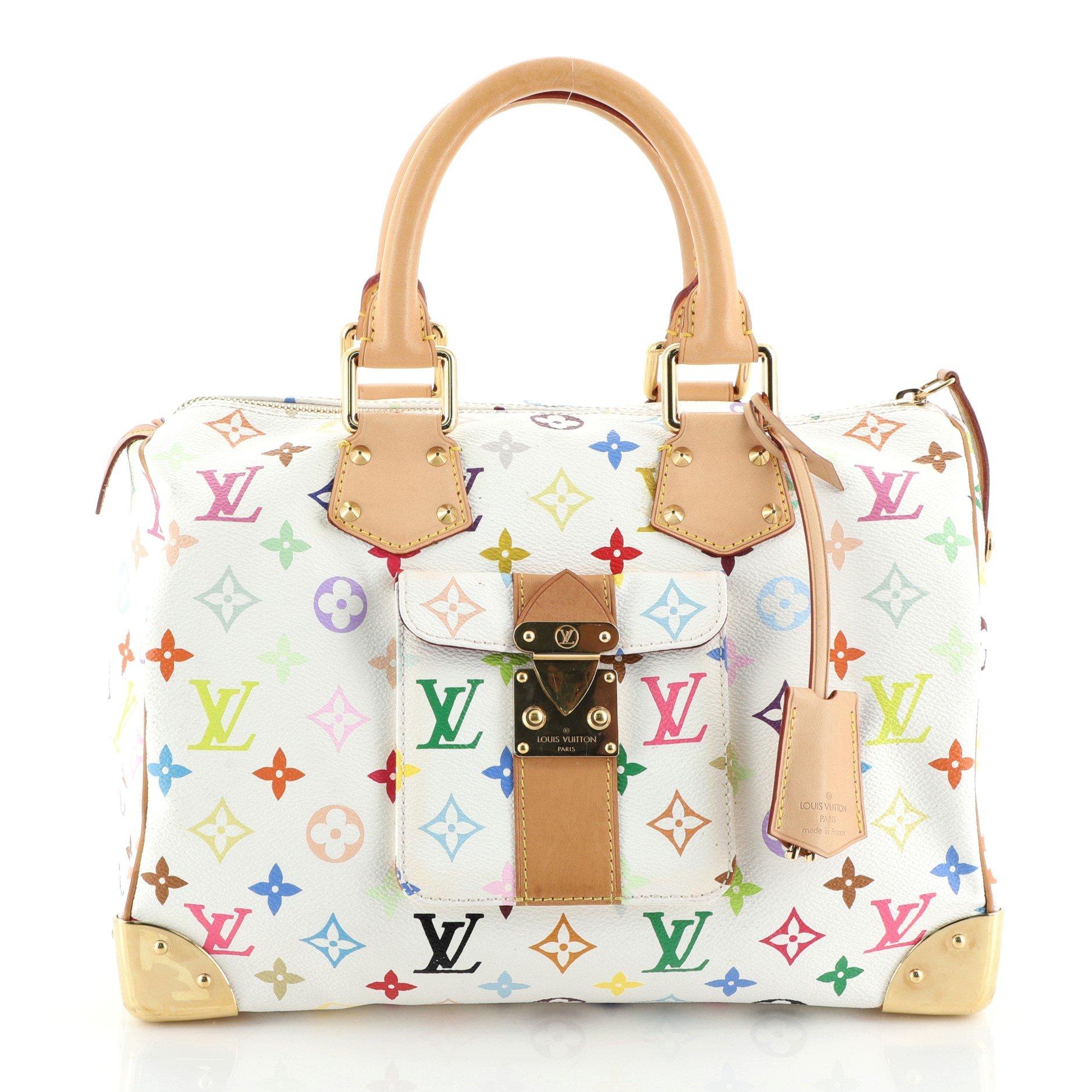 Louis Vuitton Speedy Handbag Monogram Multicolor