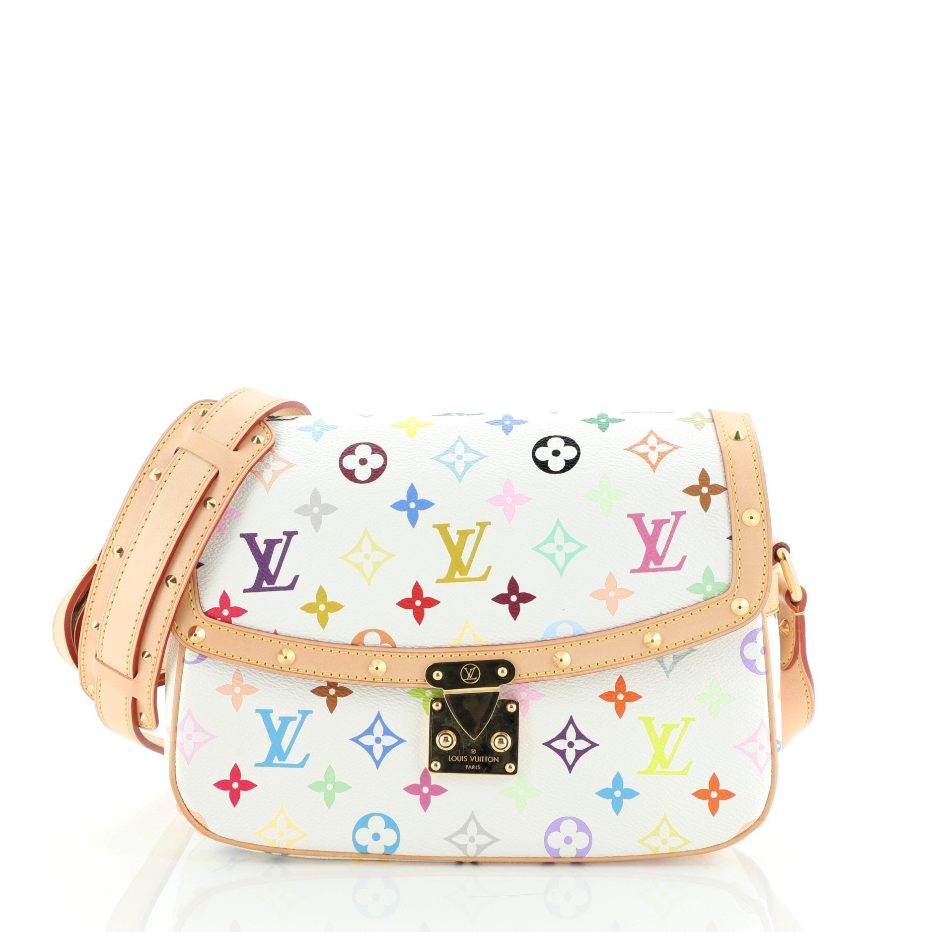 Louis Vuitton Sologne Handbag Monogram Multicolor