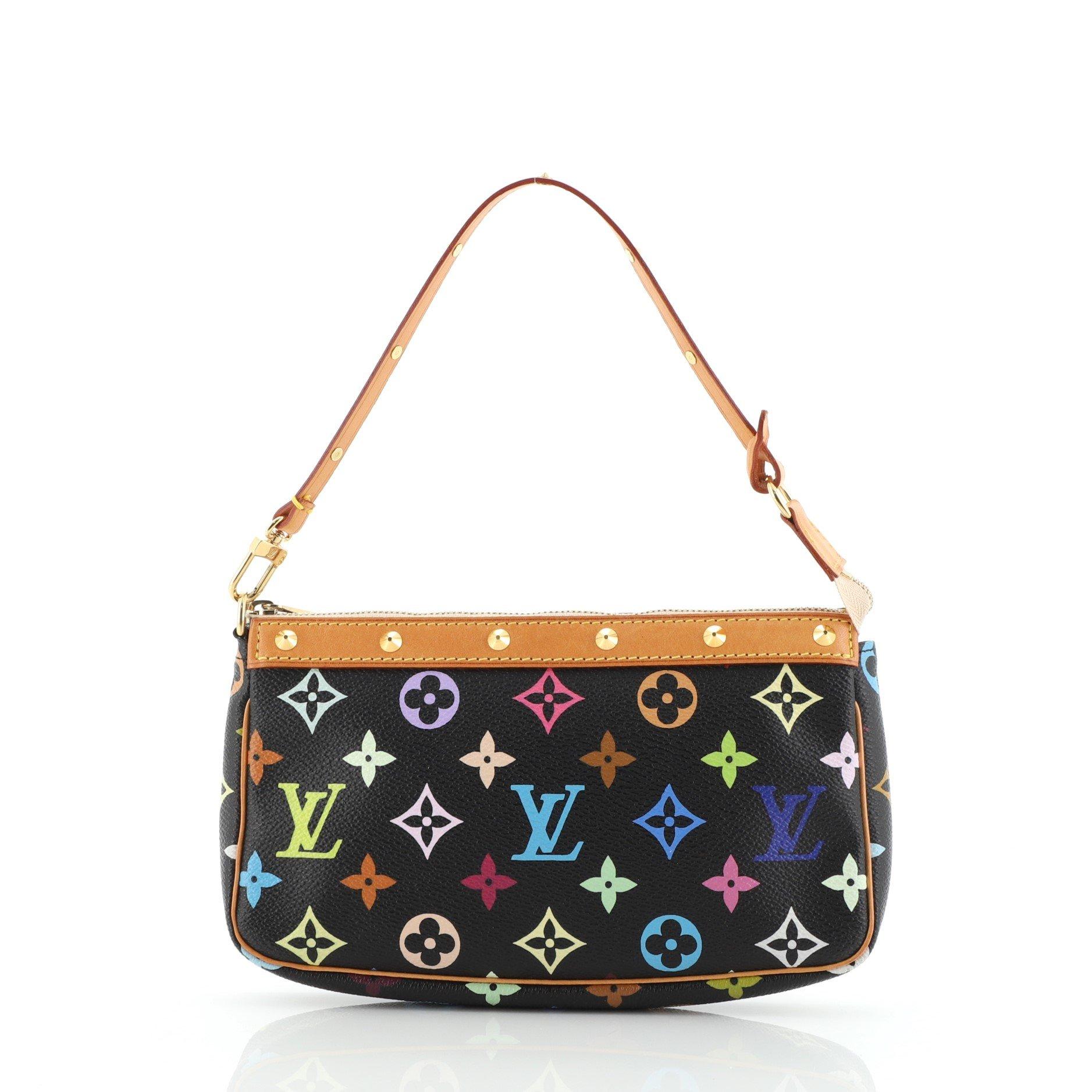 Louis Vuitton Pochette Accessoires Monogram Multicolor