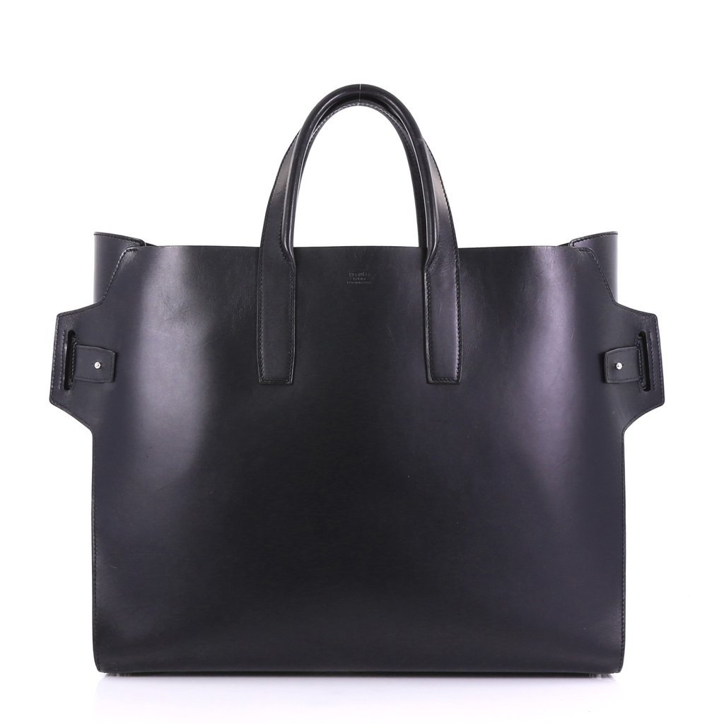 Hermes Noir Vache Hunter leather