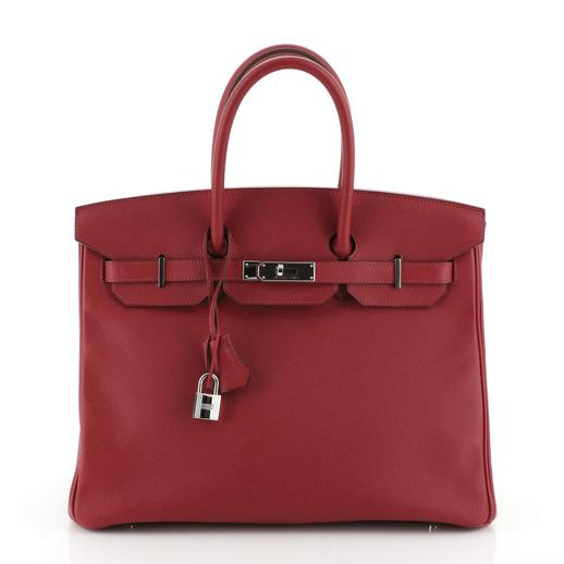 Hermes Rubis Epsom leather