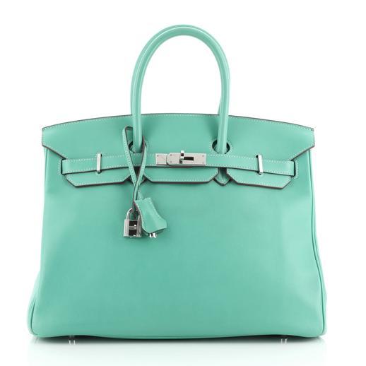 Hermes Lagon Swift Leather