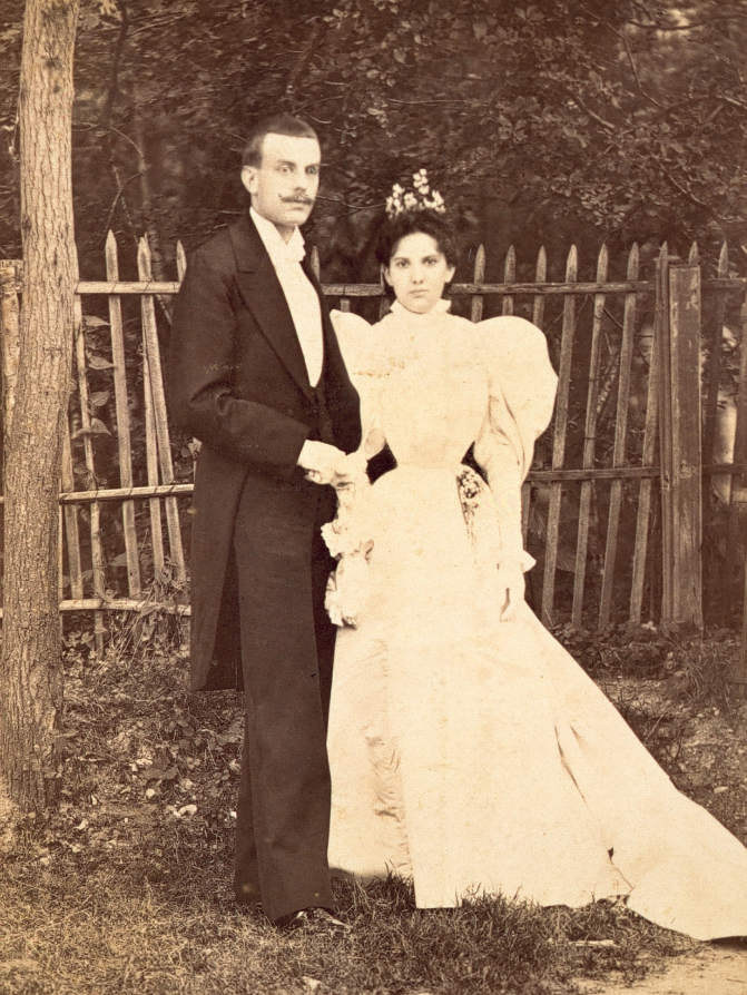The Wedding of Estelle Arpels & Alfred Van Cleef