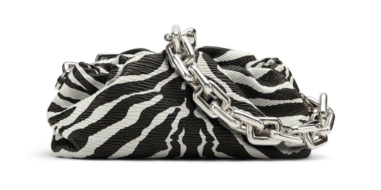 The Chain Zebra Pouch