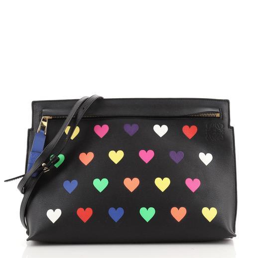 Loewe Flat Crossbody Bag Printed Leather