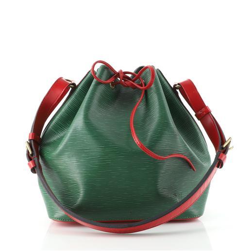 Bicolor Petit Noé Handbag Epi Leather