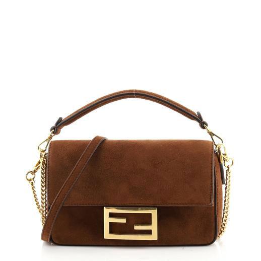 Baguette NM Bag Suede Mini