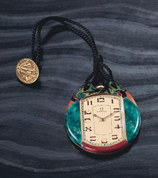 The 1925 Omega Jumbo Art Deco dress watch.