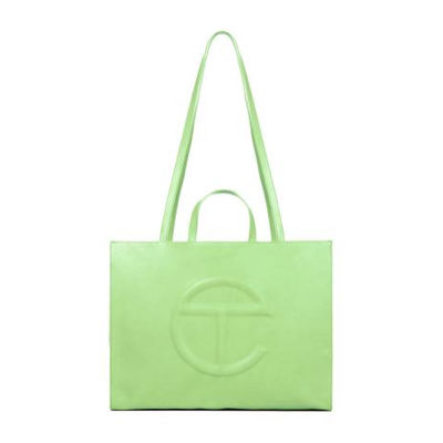 The Telfar Shopping Bag in lime