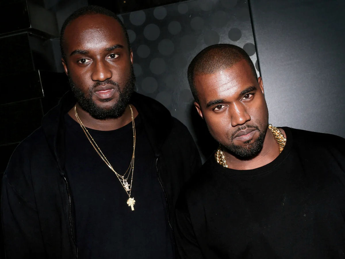 The good friends, Abloh and West.