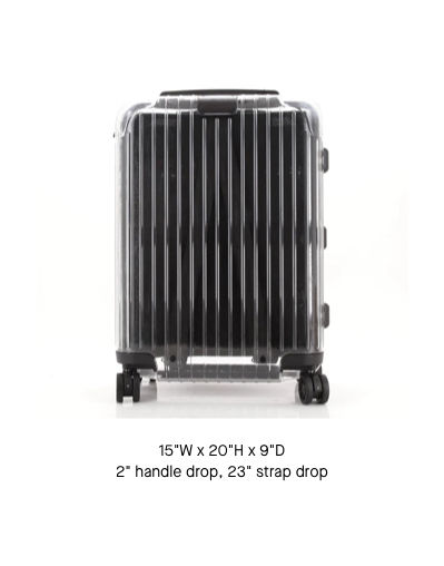 Off-White x Rimowa Transparent Carry On