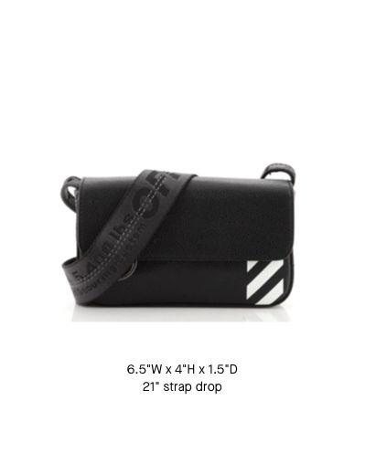 Off-White Flap Crossbody Bag