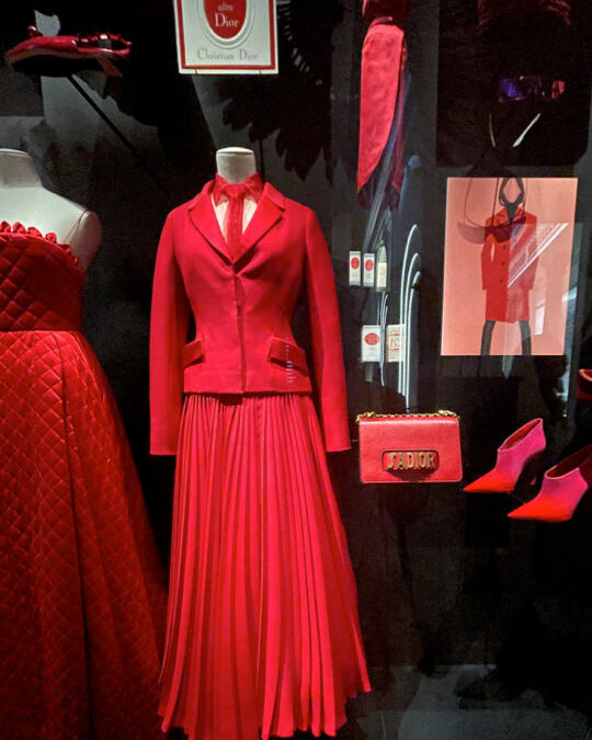 Christian Dior Arrives at the Brooklyn Museum