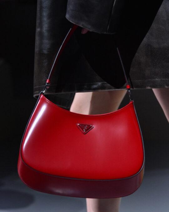Prada Handbags Go Red For Spring/Summer 2022