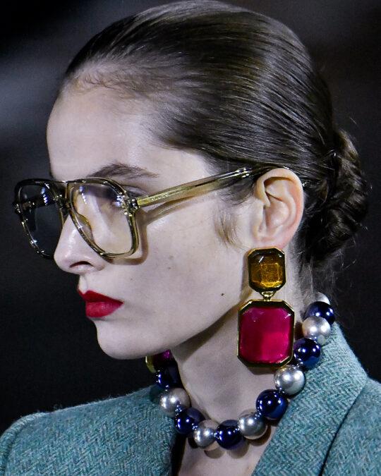Saint Laurent Recalls Paloma Picasso's Sumptuous Style